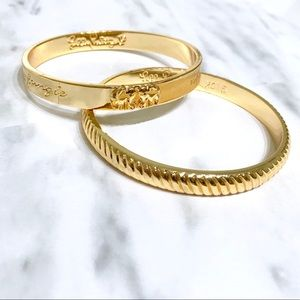 LILLY PULITZER • Gold • IN THE JUNGLE BANGLES